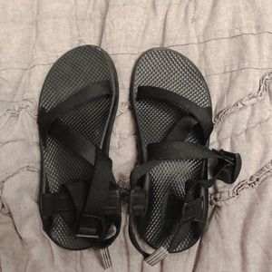 Black Strappy Chacos